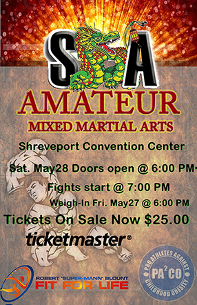 A DRAGON'S TALE MMA PRESENTED BY ROBERT BLOUNT - FIT FOR LIFE @ Shreveport Convention Center | Shreveport | Louisiana | United States